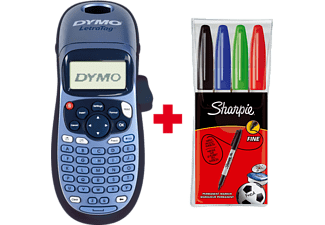 DYMO LetraTag LT-100H + Sharpie Bundle 2018