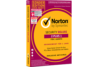Norton Security Deluxe 2+1 Sonderedition 2018