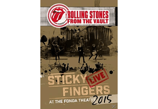 The Rolling Stones - From The Vault: Sticky Fingers Live 2015 (DVD+3LP) - (LP + DVD Video)