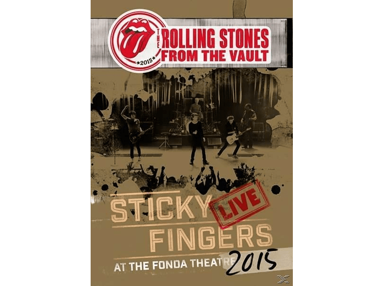 The Rolling Stones - From The Vault: Sticky Fingers Live 2015 (DVD+3LP) [Vinyl]