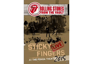 The Rolling Stones - From The Vault: Sticky Fingers Live 2015 (DVD) - (DVD)