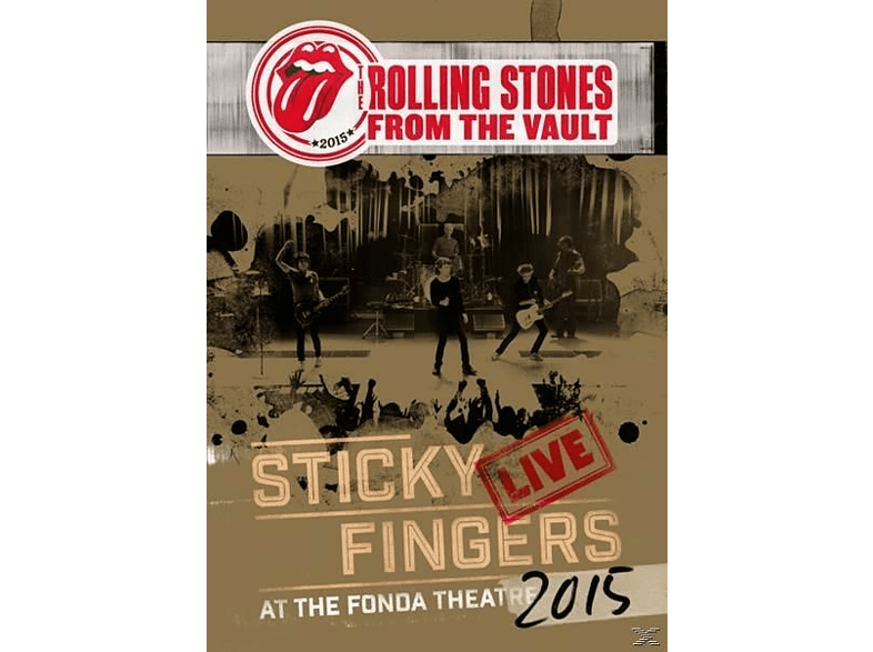 The Rolling Stones - From The Vault: Sticky Fingers Live 2015 (DVD) [DVD]