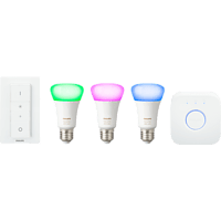 PHILIPS Hue White & Color Ambiance 4. Generation Starter Kit Mehrfarbig