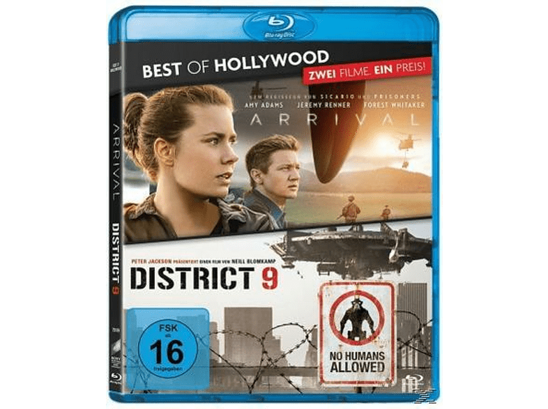 Arrival / District 9 - Best of Hollywood [Blu-ray]