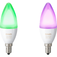 PHILIPS Hue White & Color Ambiance LED Leuchtmittel Mehrfarbig