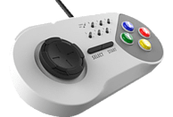 NORDIC GAME SUPPLY Wired Turbo Controller , Gamepad, Weiß