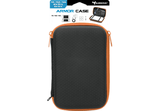 NORDIC GAME SUPPLY SU-SA5425-2 2DSXL Armor Case Orange, Case, Schwarz/Orange