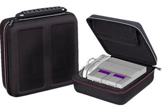 NORDIC GAME SUPPLY SU-SA5465 SNES All-In-One Armor Case, Transportkoffer, Schwarz