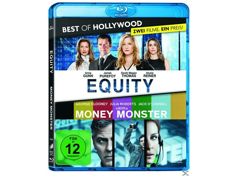 Equity / Money Monster - Best of Hollywood [Blu-ray]