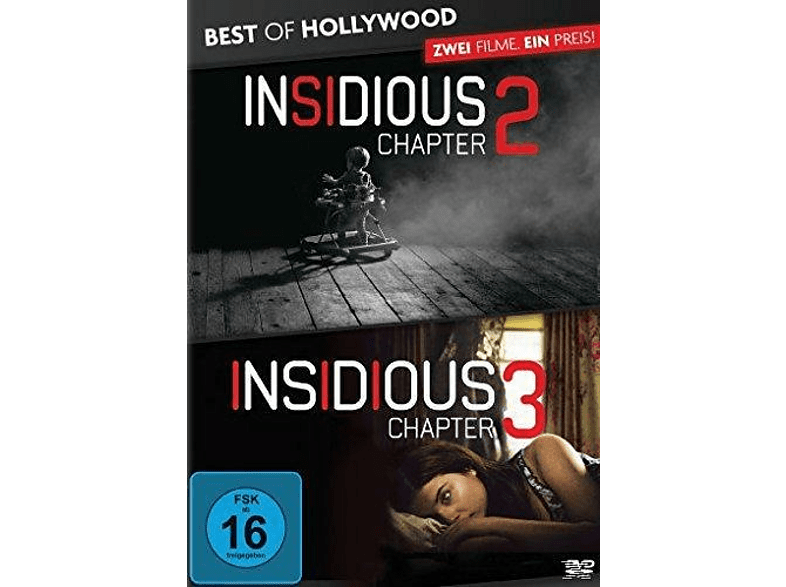 Insidious: Chapter 2 / Insidious: Chapter 3 - Best of Hollywood [DVD]