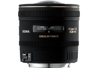 SIGMA 486962 Zirkular Fish-Eye für Sony - 4.5 mm, f/2.8