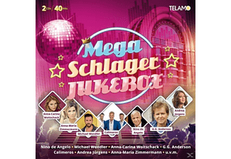 VARIOUS - Mega Schlager Jukebox - (CD)