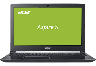 ACER Aspire 5 (A515-51-589E), Notebook mit 15.6 Zoll Display, Core™ i5 Prozessor, 8 GB RAM, 1 TB HDD, UHD-Grafik 620, Steel Gray