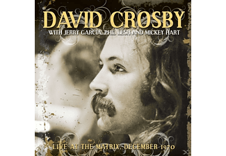 Crosby,David With Phil Lesh,Jerry Garcia & Mickey - Live At The Matrix December 1970 (Vinyl) - (Vinyl)