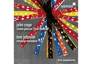 Trio Omphalos - Chess Pieces/Four Dances - (CD)