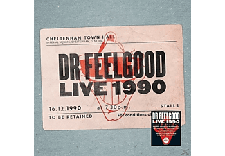Dr. Feelgood - Live 1990-At Cheltenham Town Hall - (CD + DVD Video)