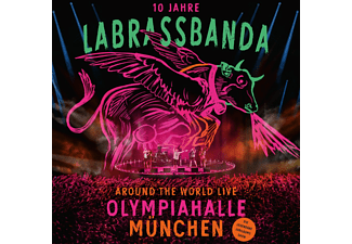 LaBrassBanda - Around the World (Live) - (CD + Blu-ray + DVD)
