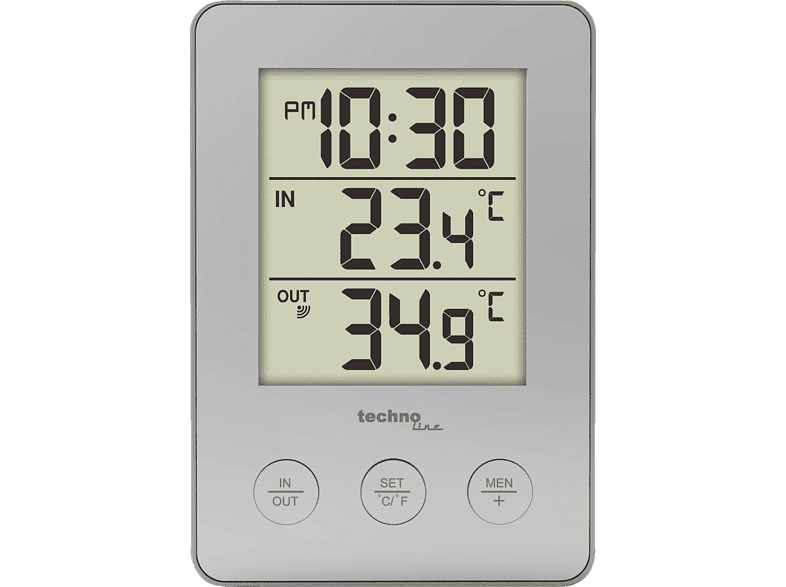 TECHNOLINE  WS9175 Funk-Thermometer | 04029665091754