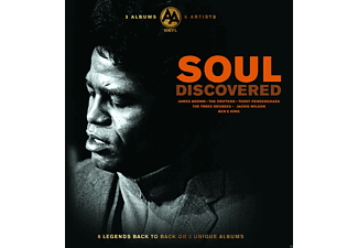 VARIOUS - Discovered Soul - (Vinyl)