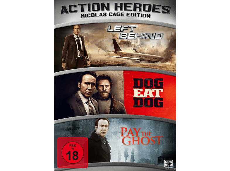 Action Heroes - Nicolas Cage Edition [DVD]