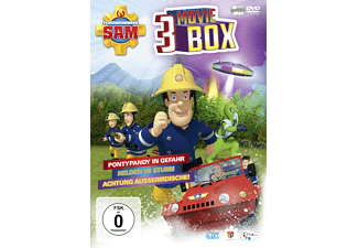 Feuerwehrmann Sam 3 Moviebox (Ltd.) [DVD]