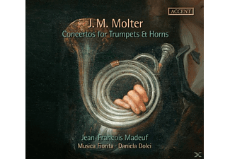 Jean Francois Madeuf - Concertos for Trumpets & Horns - (CD)