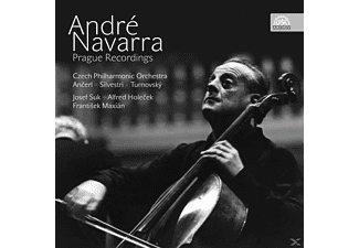 Andre Navarra, Suk, Holecek, Silvestri, The Czech Philharmonic Orchestra - André Navarra-Prague Recordings - (CD)
