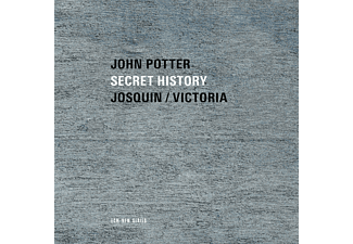 John Potter - Secret History - Sacred Music by Josquin and Victoria (CD)