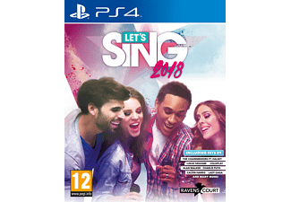 Let's Sing 2018 FR PS4 + Microfoon