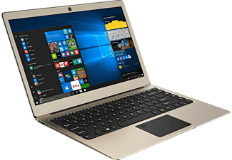 ODYS Winbook 13, Notebook mit 13.3 Zoll Display, Celeron® Prozessor, 4 GB RAM, 64 GB Flash, HD Graphics 500, Champagne/Gold