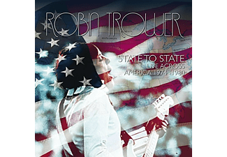 Robin Trower - State To State / Live Across America 1974-1980 (CD)