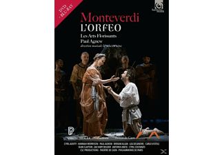VARIOUS, Les Arts Florissants - L'Orfeo - (DVD + Blu-ray + CD)