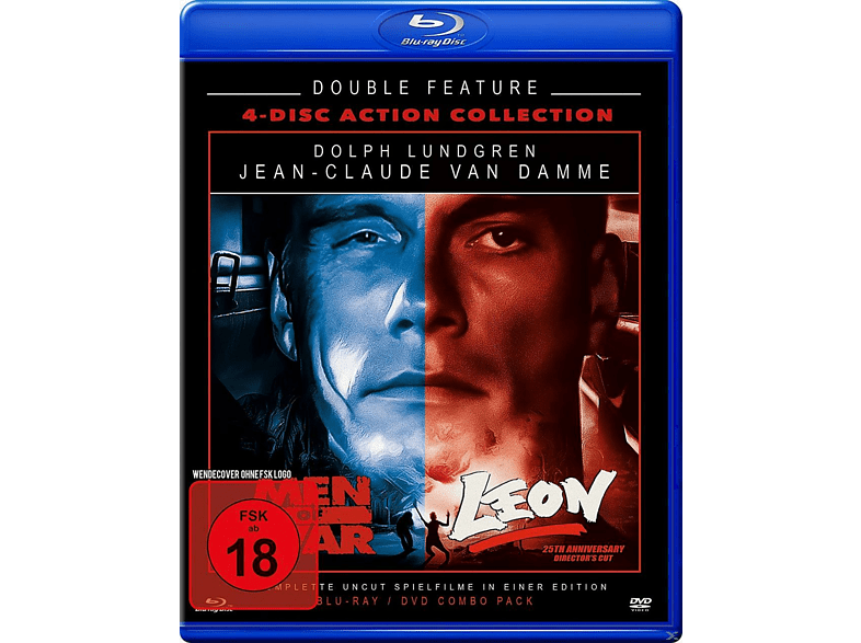 Leon + Men of War - Double Feature [Blu-ray + DVD]