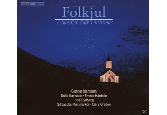 Idenstam - FOLKJUL - A SWEDISH FOLK CHRISTMAS - (CD)