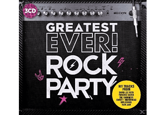 VARIOUS - Rock Party-Greatest Ever - (CD)