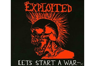 The Exploited - Let's Start A War - (CD)