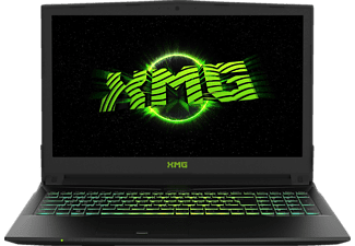 XMG A507 - pjx, Gaming Notebook mit 15.6 Zoll Display, Core™ i7 Prozessor, 8 GB RAM, 500 GB SSD, GeForce GTX 1050 Ti, Schwarz