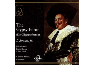 Julius Patzak, Emmy Loose, Alfred Poell - The Gypsy Baron - (CD)