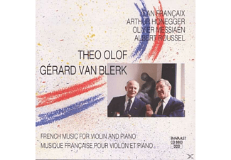 Olof, Theo / Van Blerk, Gerard - French Music for Violin and Piano - (CD)