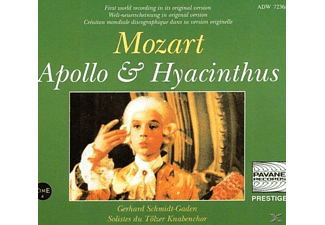Die Schäfer, Gunther, Pratschke, Ensemble Baroque - Mozart:Apollo & Hyacinthus - (CD)
