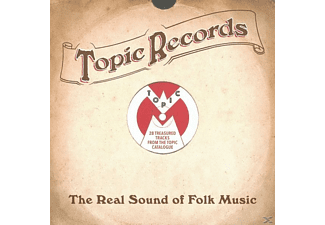 VARIOUS - Topic Records-Real Sound Of Folk Music - (CD)