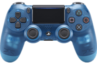 SONY DUALSHOCK4 Wireless-Controller} Blue Crystal