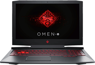 HP OMEN 15-ce033ng, Gaming Notebook, Core™ i7 Prozessor, 16 GB RAM, 1 TB HDD, 256 GB SSD, GeForce® GTX 1050 Ti, Schwarz