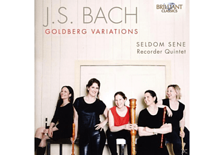 Seldom Sene Recorder Quintet - Goldberg Variations - (CD)