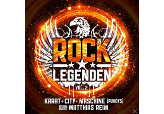 VARIOUS - Rock Legenden Vol.2 - (CD)