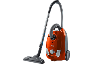 AEG VX4 X EFFICIENCY VX4-1-OR Staubsauger mit Beutel, EEK: A, 750 Watt, Orange-Rot