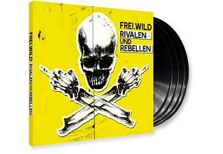 Frei.Wild - Rivalen und Rebellen (LTD. 4LP Gatefold + MP3 CD) - (Vinyl)