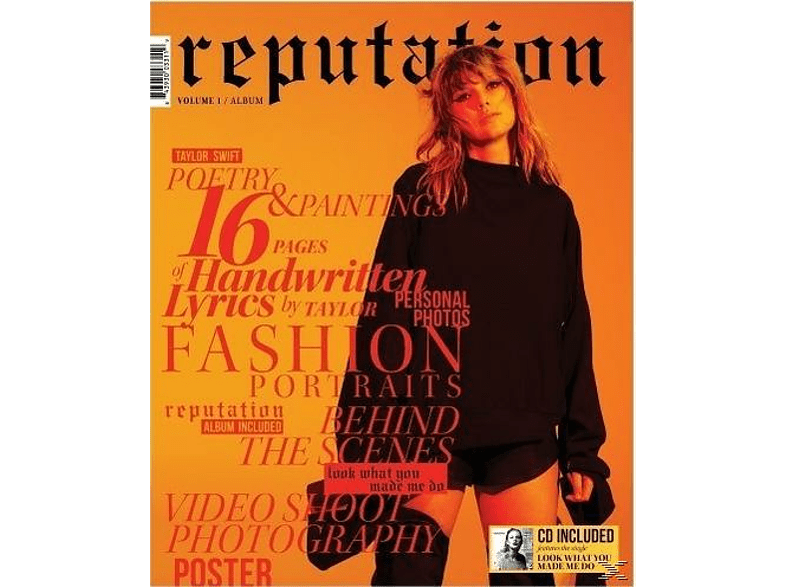 Taylor Swift - Reputation (Special Edition Vol. 1) [CD]