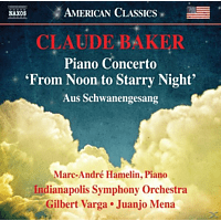 """Indianapolis Symphony Orchestra, Marc-andré Hamelin - Piano Concerto """"From Noon to Starry Night"""" [CD]"""