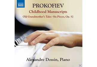 Alexandre  Dossin - Childhood Manuscripts - (CD)